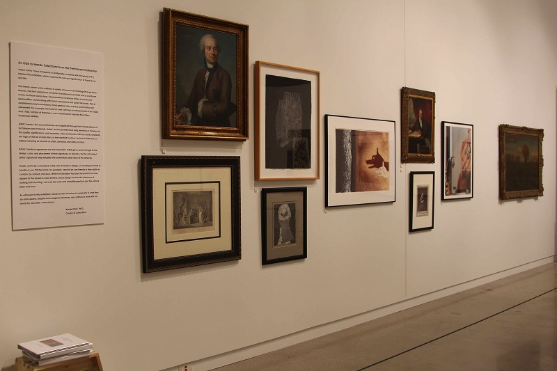 An Ode to Hands: Selections from the Permanent Collection