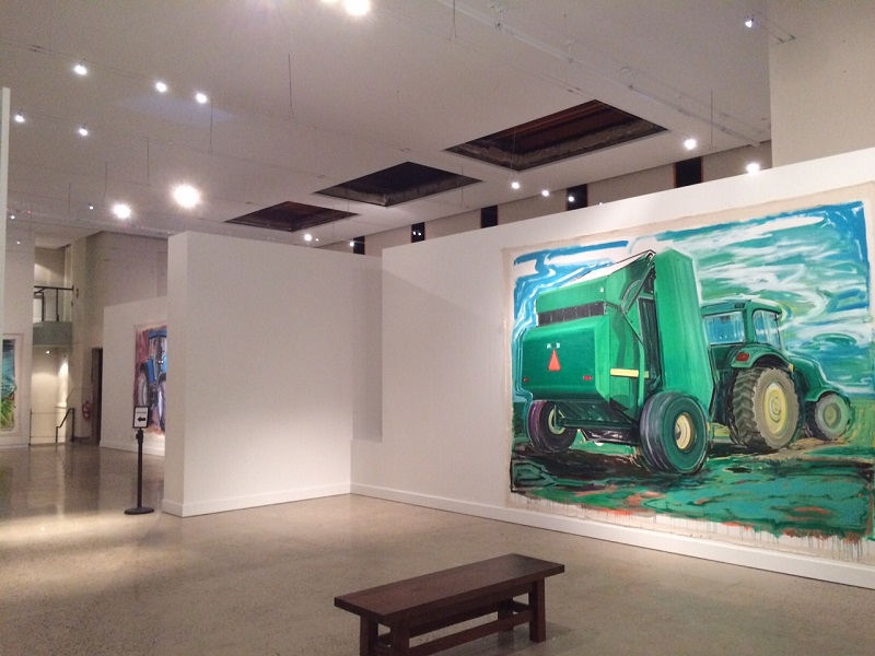 Movers and Shapers: Combines, Tractors, and Swathers by Karen Carson
